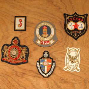 Blazer Patches Set Of 6