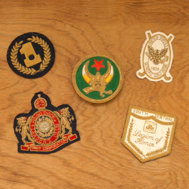 Blazer Patches Set Of 5