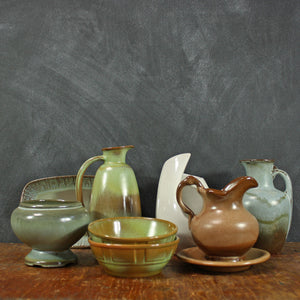 Frankoma Ceramics Set Of 8