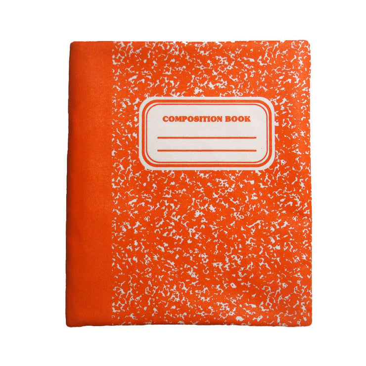 Composition iPad Sleeve Orange