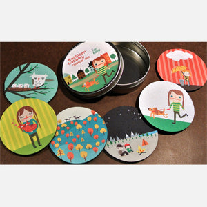 Kathleen Habbley Coaster Set