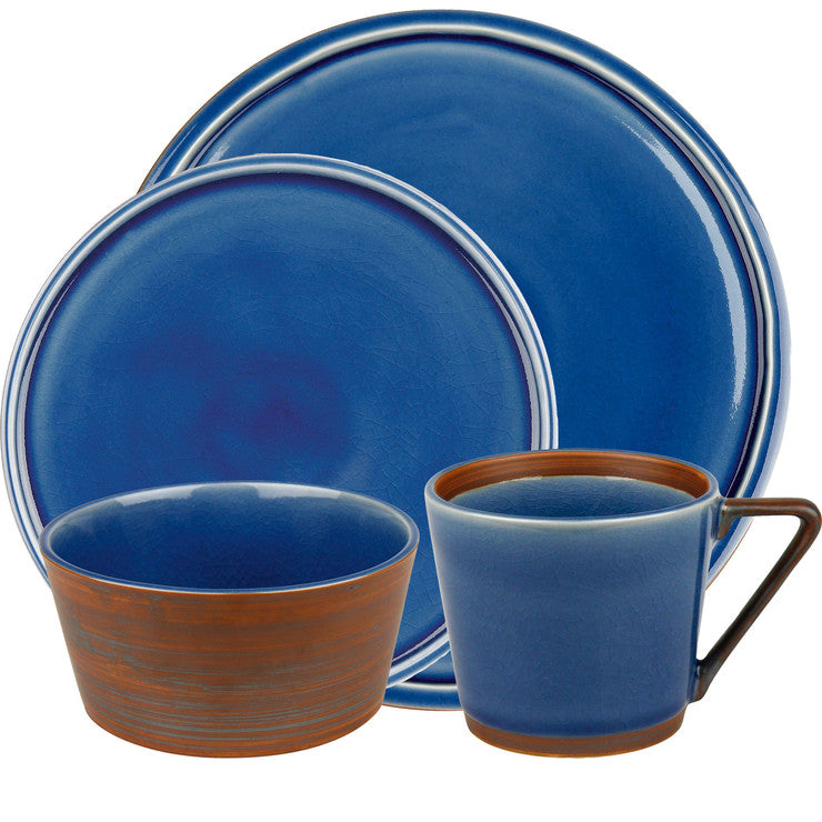 Blue Place Setting 4pc