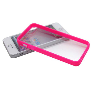 iPhone 5 Case Matte Pink Clear