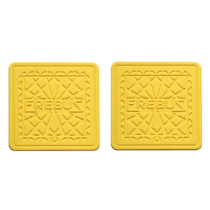Barcelona Coaster Square Yellow
