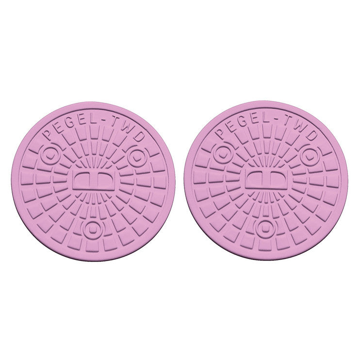 Berlin Coaster Round Lilac 2Pc