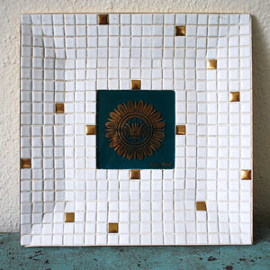 Georges Briard Mosaic Tile Tray