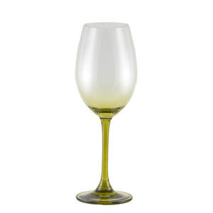 Love Wine Glass Green Set of 6