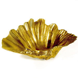 Brass Clam Bowl