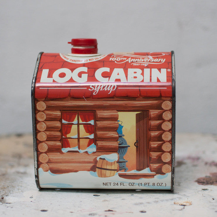 Log Cabin Syrup 100 Anniversary
