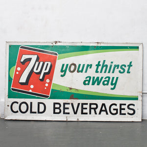 7-UP Your Thirst Away Sign