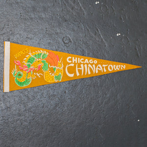 Chicago Chinatown Pennant