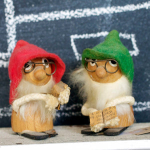 Handmade Holiday Gnome Pair