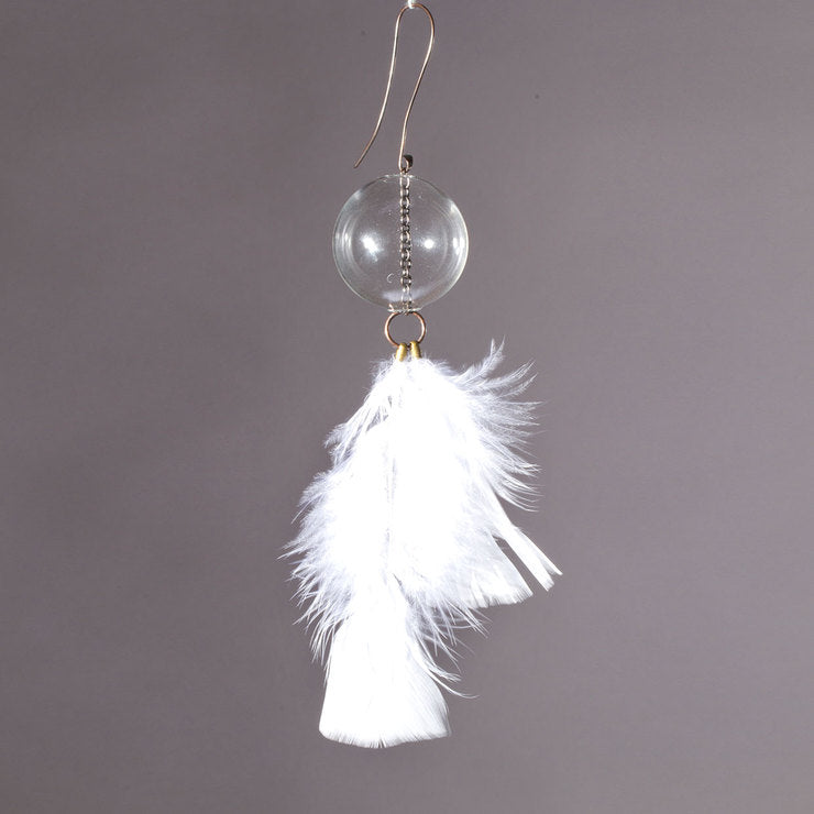 Feather Sphere White