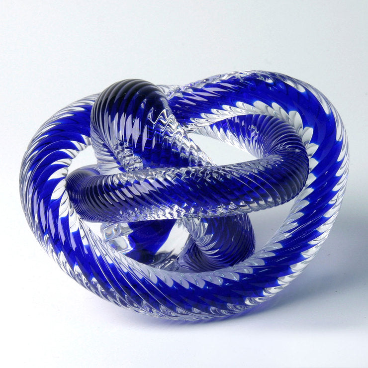Crystal Knot Blue