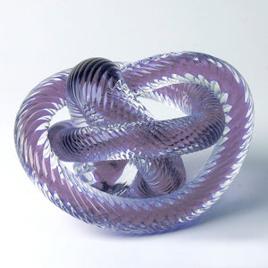Crystal Knot Purple