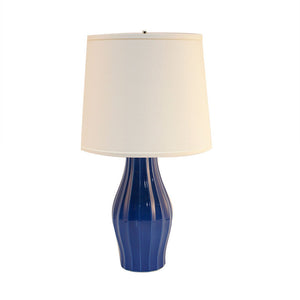 Fluted Lamp 23\ Blue""