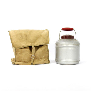 Camping Thermos And Backpack