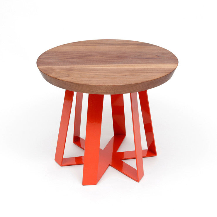 ARS Table Walnut Orange
