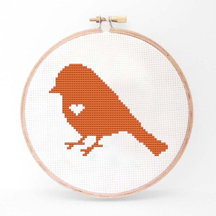Bird Cross Stitch Kit I