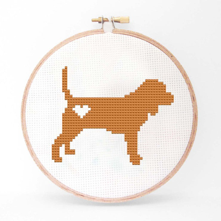 Beagle Cross Stitch Kit