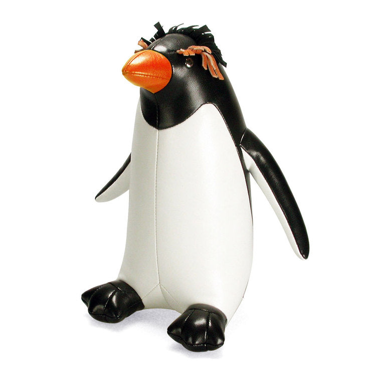 Macaroni Penguin Bookend Black