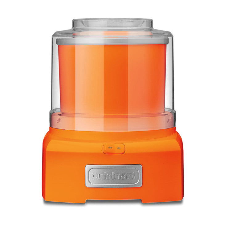 Ice Cream Maker Orange
