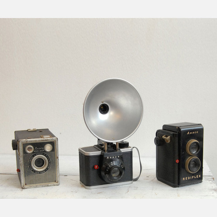 Ansco Camera Trio