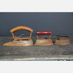 Antique Irons Trio I