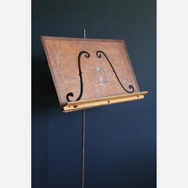 Antique Music Stand