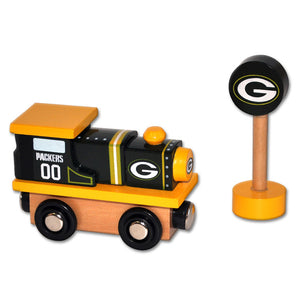 Green Bay Packers Train Engine