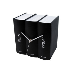 Books Desk Clock