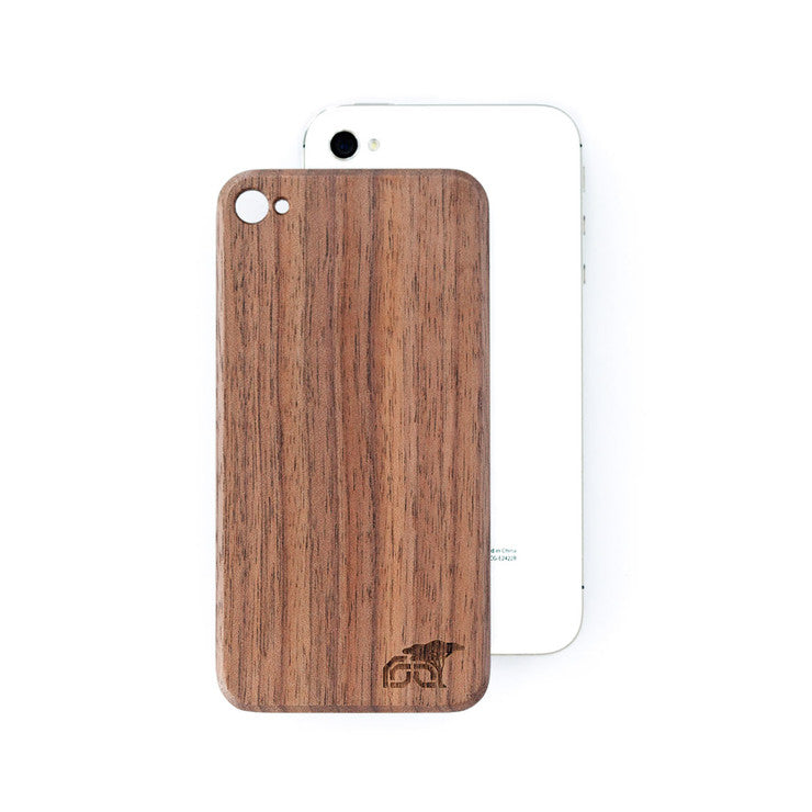 iPhone 4/4S Back Walnut