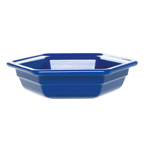 Hexagonal Dish Small Azur