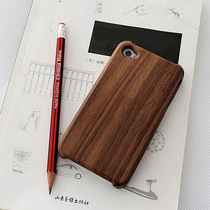 iPhone 4/4S Case Walnut