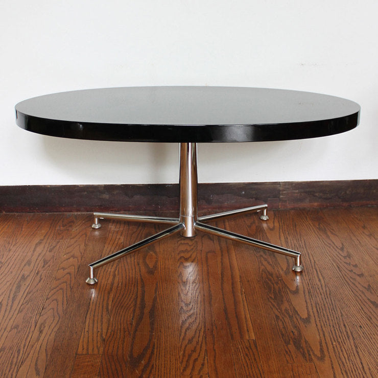 Chrome And Lacquer Table