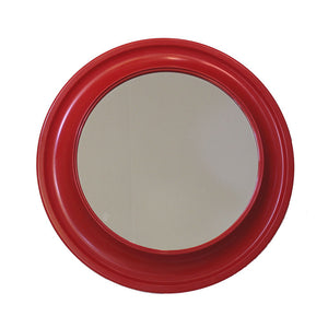'60s Red Plastic Mirror