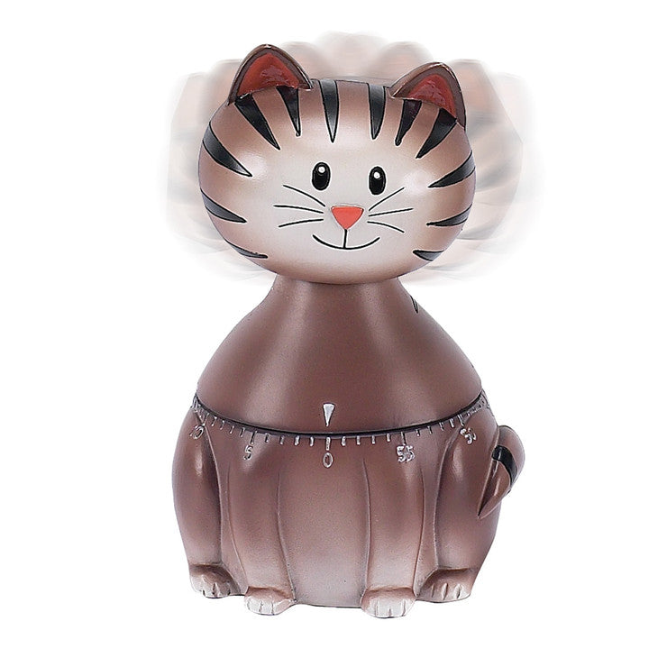 "Cat \bobble head"" Timer"""