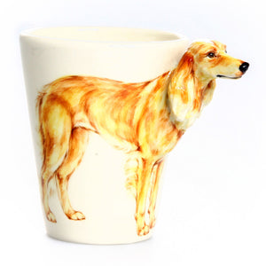 Saluki Mug Brown