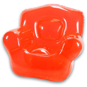 Inflatable Chair Real Red