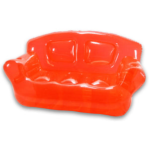 Inflatable Couch Real Red
