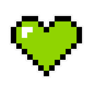 Heart Graphic Green