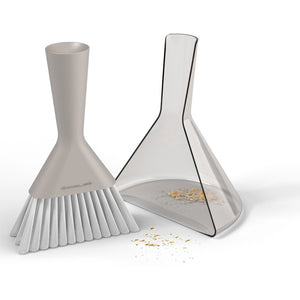 Dustpan And Brush Set Gray