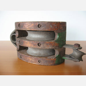 Large Industrial Pulley