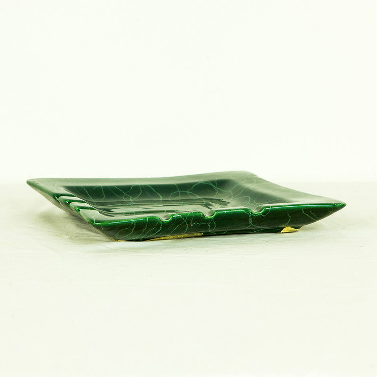 Funky Green Ashtray