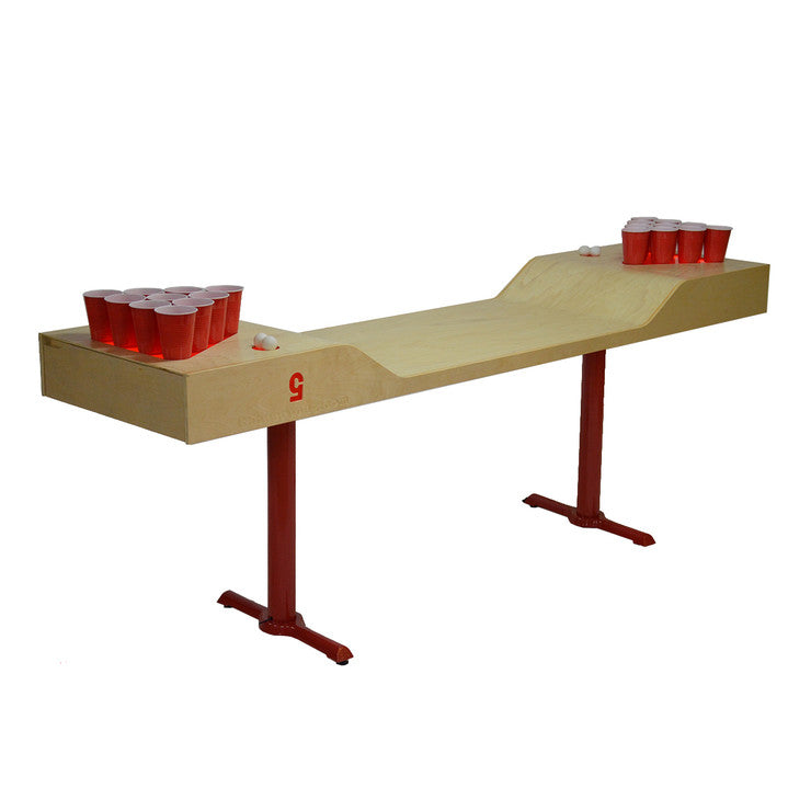 C5 Beer Pong Table Solo Red