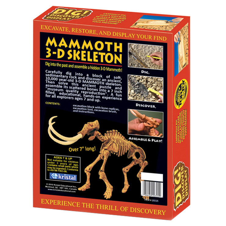 Dig And Discover Mammoth 3D