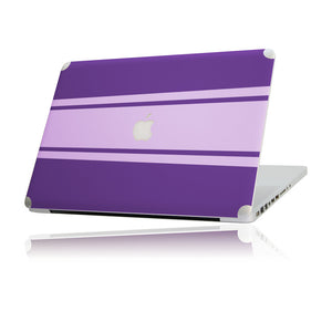 MacBook Skin Set Racing Purple