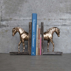 Foundation Bookend Gold-Tone