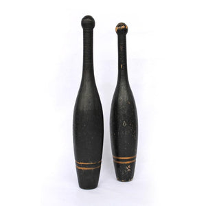 Black Gold Medicine Clubs Pair
