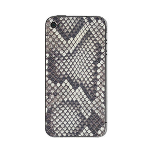 iPhone 4/4S Leather Back Python